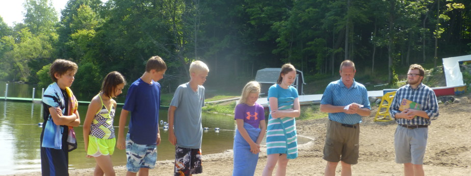 Camp Cotubic Baptisms 2015